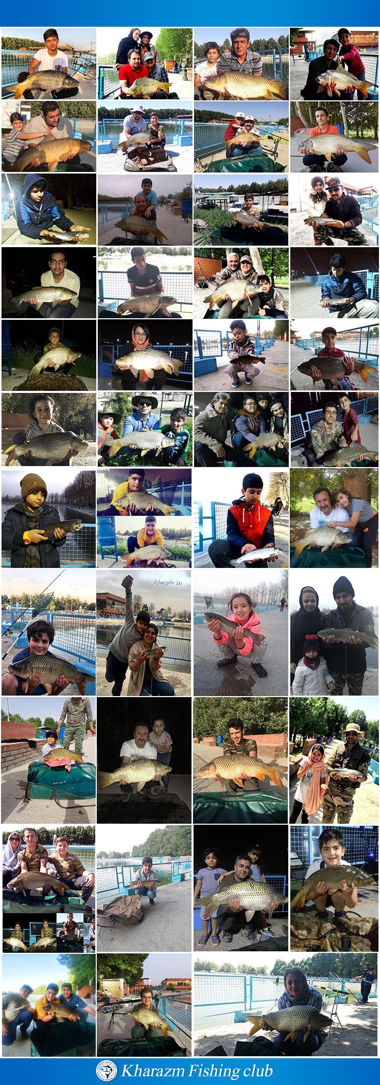 آموزش ماهیگیری ورزشی از پایه در باشگاه ورزشی خوارزم